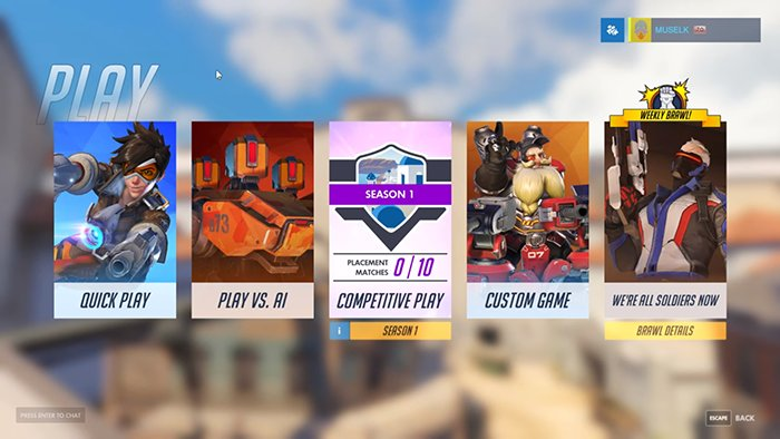 Overwatch matchmaking terrible